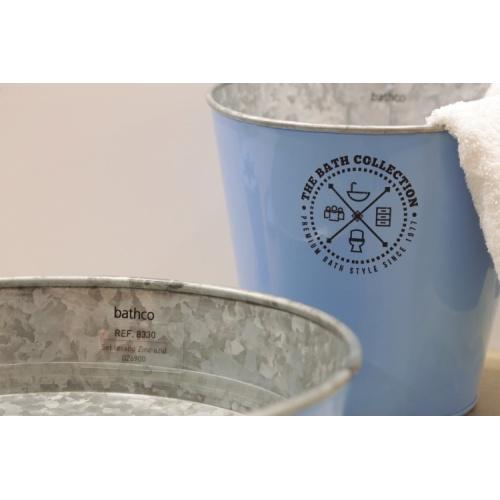 Ensemble de salle de bains KIOTO en Zinc Bleu 8330_Kioto_Azul