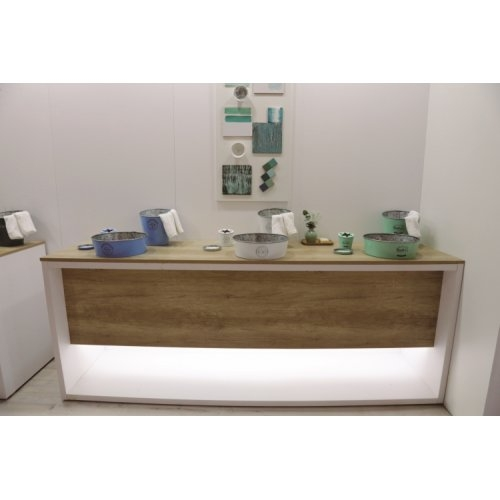 Set de toilette KIOTO en Zinc Blanc 8330_8328_8329_Kioto_Varios colores