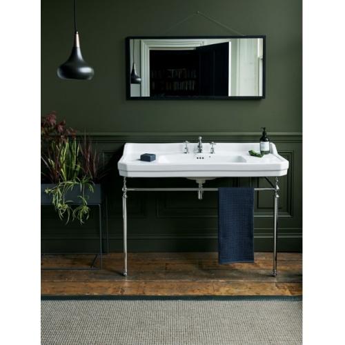 Simple vasque rectangulaire Edouardien Burlington - 1 Trou robinetterie 100029_w900_h900