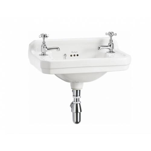 Lave-mains + Console EDOUARDIEN - 2 Trous de Robinetterie Lave-mains Edouardien B8