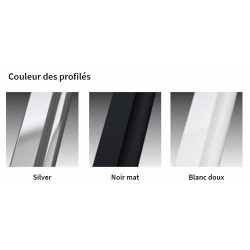 Étagère FRAME pour paroi de douche - Blanc Mat Coloris HF Frame Porte-Objets
