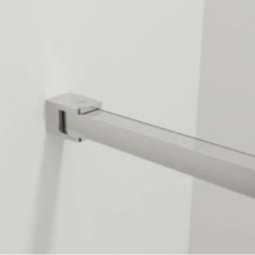 Paroi de douche fixe FADO Transparent - Argent - 80 cm FADO 3