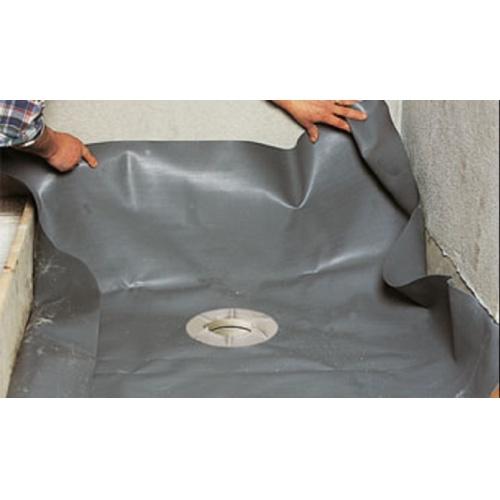 Receveur de douche Isotanche Chantier 150x180 - Bonde Horizontale* etancheite-bonde-isotanche