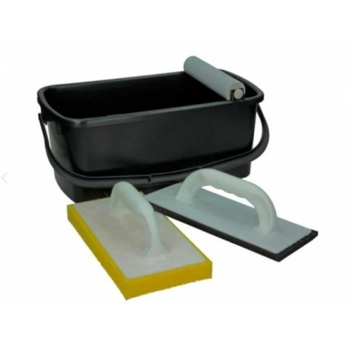 Kit de nettoyage pour carreleurs Seau nettoyage