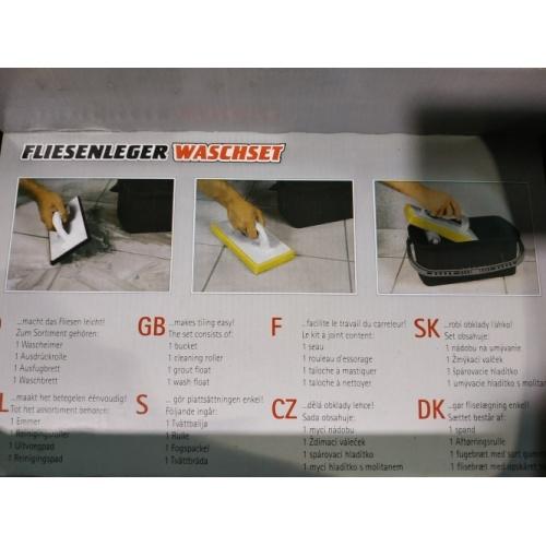 Kit de nettoyage pour carreleurs Kit nettoyage