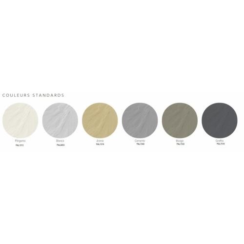 Receveur de douche 70x100 Liso Enmarcado Frontal Graphite Coloris LISO