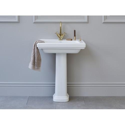 Vasque Rétro rectangulaire RIVIERA 65 cm - Non percé RIVIERA-Pedestal-Burlington (1)