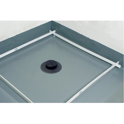 Receveur de douche Isotanche Chantier 150x180 - Bonde Horizontale*