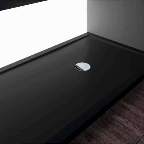 receveur de douche rectangulaire olympic plus noir. Black Bedroom Furniture Sets. Home Design Ideas