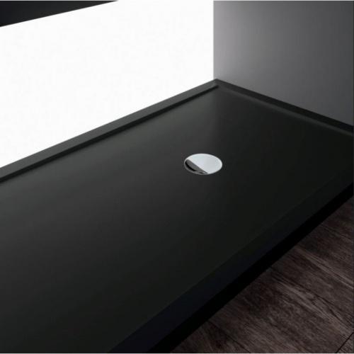 Receveur Olympic Plus Noir - Hauteur 4.5 cm - 110x70 cm