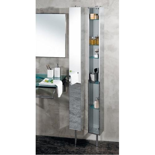 Armoire tournante en Inox avec miroir - PK51506 1226
