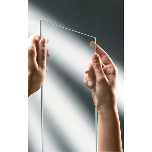 Paroi d'angle Young 2.0 GS+F gauche 80x80cm Transparent Silver 1 verre transparent