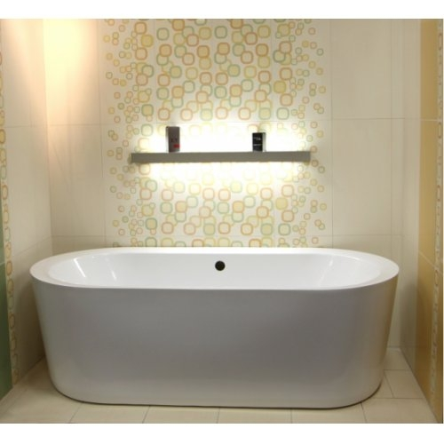 baignoire ilot ovale monobloc oleron. Black Bedroom Furniture Sets. Home Design Ideas