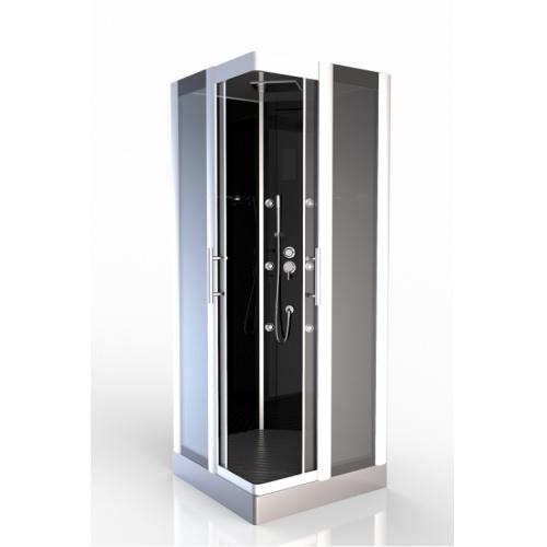Cabine de douche carré Premium Square 90cm Aurlane