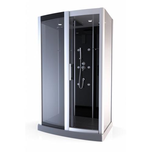 cabine de douche premium rectangulaire 90x115cm aurlane. Black Bedroom Furniture Sets. Home Design Ideas