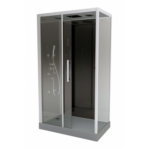 Cabine de douche Rectangulaire Black Zen 2