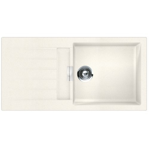 evier de cuisine signus 1 grande cuve cristadur polaris. Black Bedroom Furniture Sets. Home Design Ideas