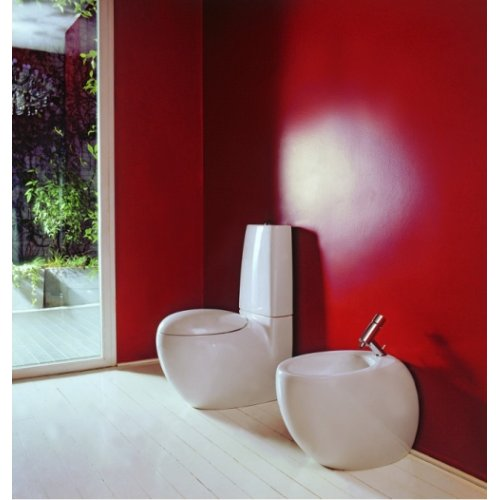 Pack WC à poser et abattant Alessi Laufen A poser 2