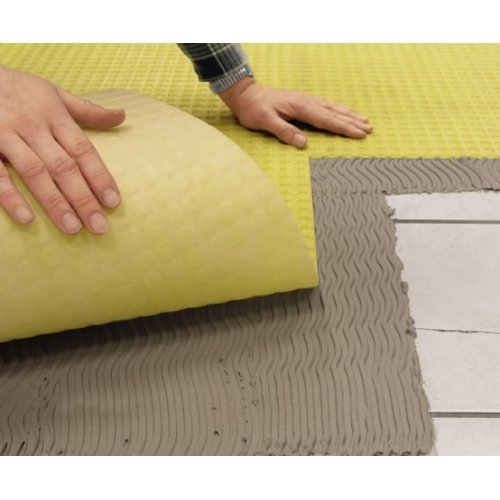 Natte de désolidarisation et d'étanchéité DURABASE CI++ 10 ml Dural uk ltd durabase ci sealing decoupling matting system for tiles 1