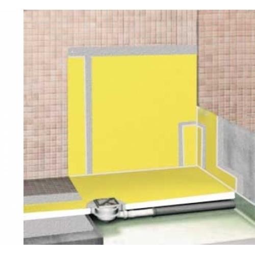 Natte d'étanchéité murale pour douche Durabase WP 5 m² Breakdown