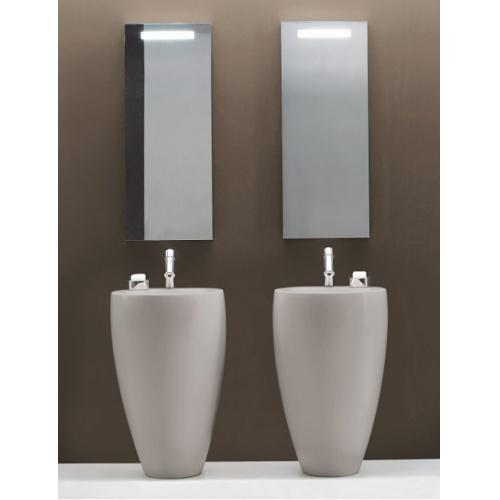 Lavabo avec colonne indépendant