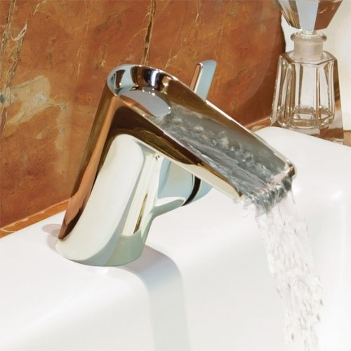 Mitigeur lavabo Waterfall chromé Ideal Standard B8630AA B8630aa
