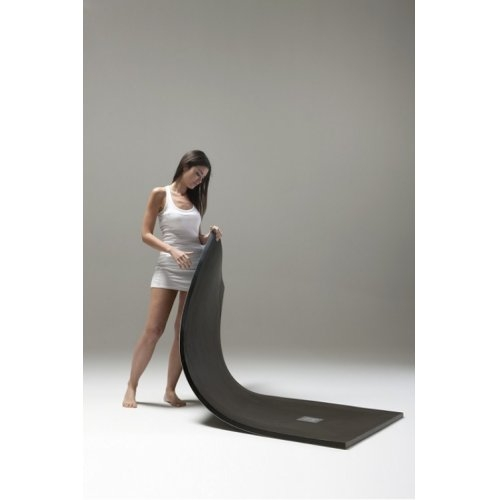 Receveur de douche souple SOFT Noir 80x80 cm Plato poliuretanano 2 soft baños10 [1600x1200]