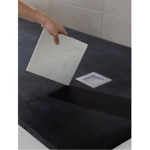 Receveur de douche souple SOFT Noir 80x80 cm Plato poliuretanano 4 soft baños10 [1600x1200]