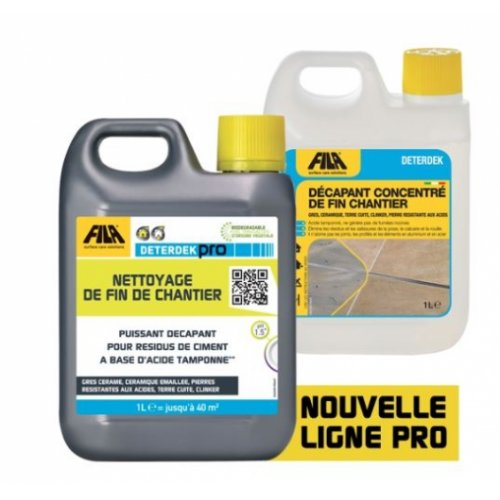 Nettoyant acide pour sols 1L DETERDEK Pro - FILA DETERDEK Pro Fila