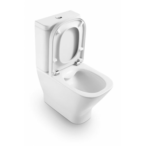 Pack WC sortie Duale CleanRim The Gap Compact Roca