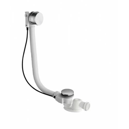 Vidage baignoires à câble avec remplissage cascade - 57 cm Ve65751