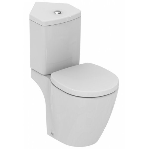 Pack WC d'angle Connect Space sortie horizontale E129901
