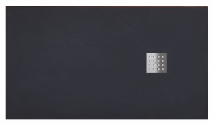 receveur de douche 90x120 pizarra graphite ebay. Black Bedroom Furniture Sets. Home Design Ideas
