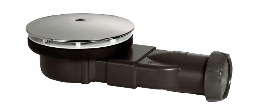 Bonde de douche diam 90 horizontale extra-plate Slim