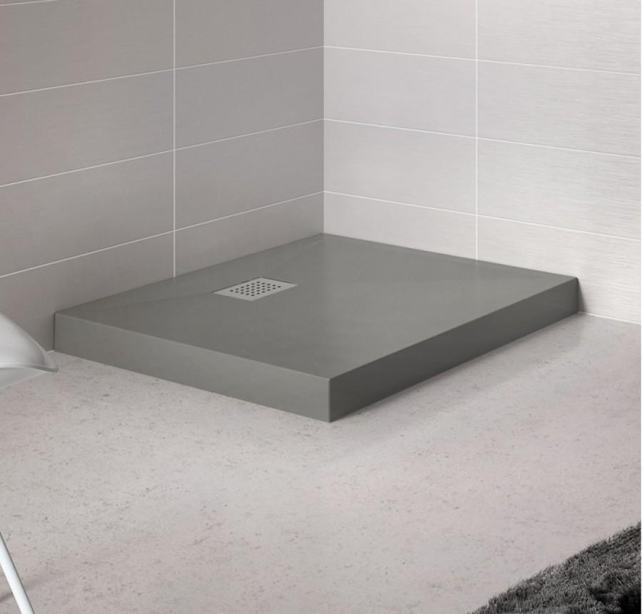 receveur de douche rectangle 70x90 en biocryl kinecompact. Black Bedroom Furniture Sets. Home Design Ideas