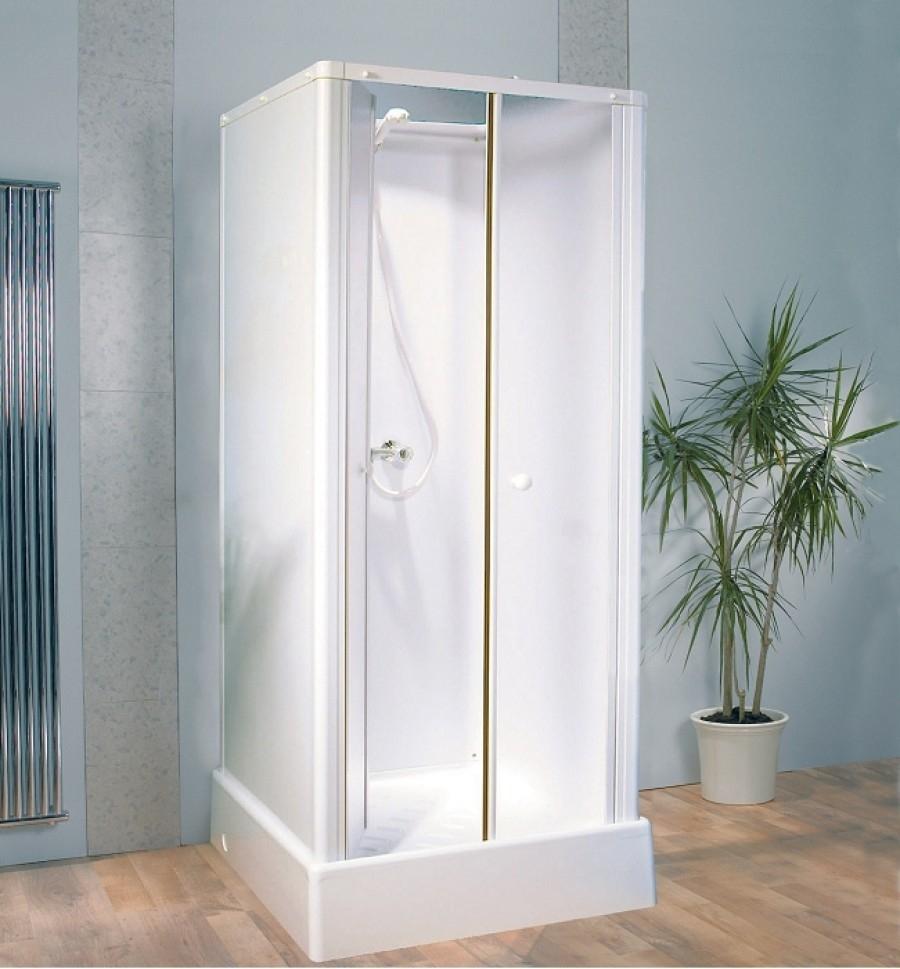 Cabine de douche pour petits espaces 70x70 delta sanitaire for Meuble 70x70
