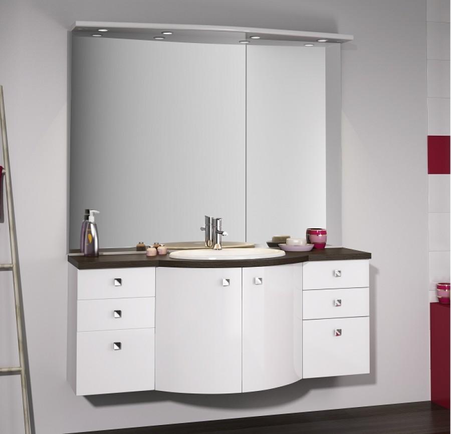 Meuble Simple Vasque 140 Cm Vague – Chaios.com