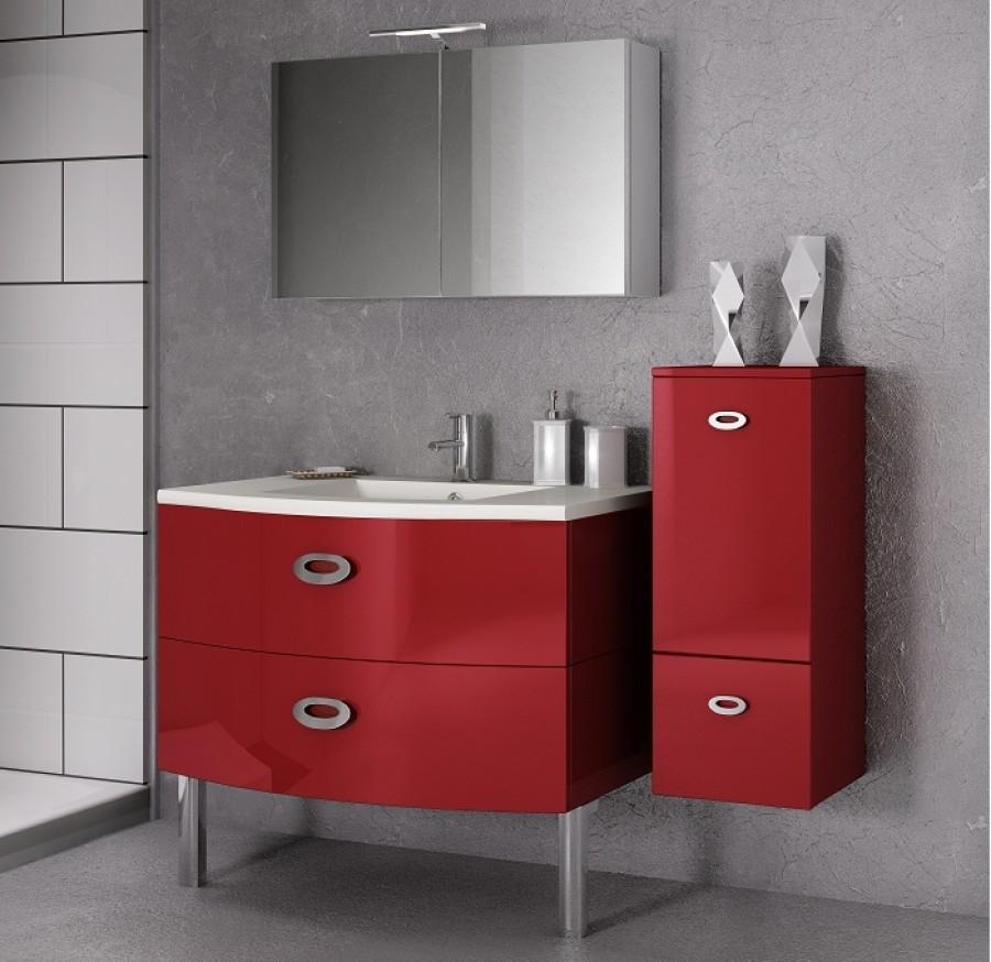Les concepteurs artistiques meuble salle de bain rouge laque - Meuble salle de bain rouge pas cher ...