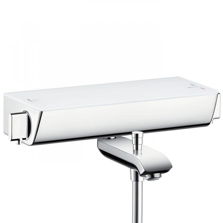 Mitigeur Bain Douche thermostatique Blanc Ecostat Select