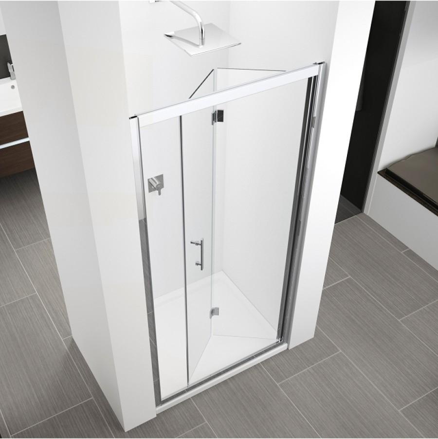 Porte de cuisine en verre meuble haut cuisine porte for Meuble haut porte pliante