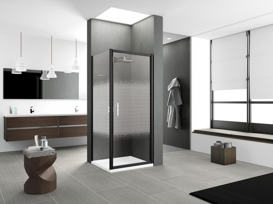 porte pivotante zephyros g 100cm verre s rigraphi. Black Bedroom Furniture Sets. Home Design Ideas