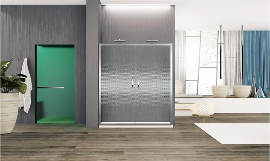 porte coulissante zephyros 2a 170cm verre s rigraphi. Black Bedroom Furniture Sets. Home Design Ideas