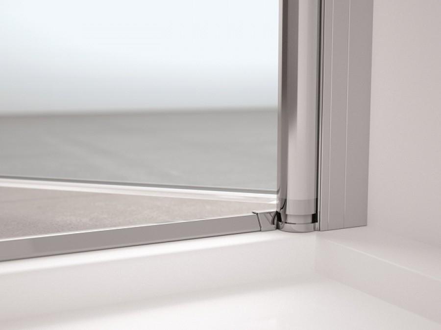 porte 2 panneaux battants young 2 0 2b 60cm transparent meuble de salle. Black Bedroom Furniture Sets. Home Design Ideas