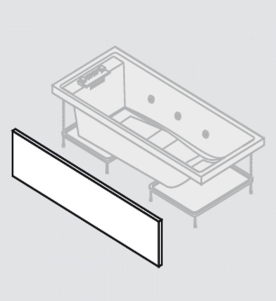 baignoire baln o 170x75 sense 4 dream air 1 tablier. Black Bedroom Furniture Sets. Home Design Ideas