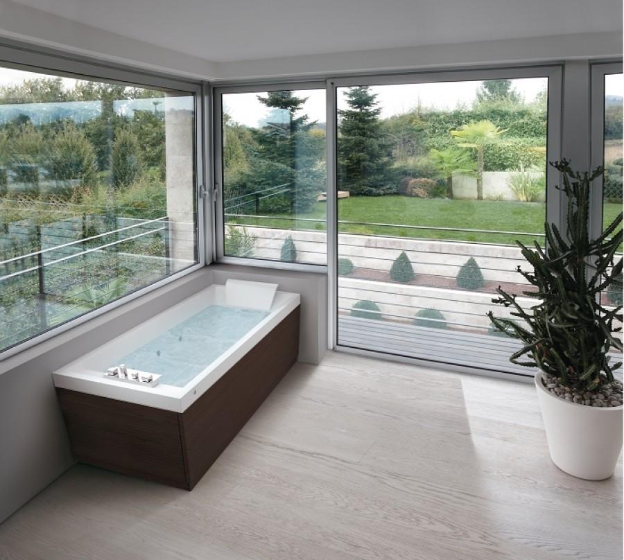 baignoire baln o 170x70 sense 4 dream air 3 tabliers. Black Bedroom Furniture Sets. Home Design Ideas