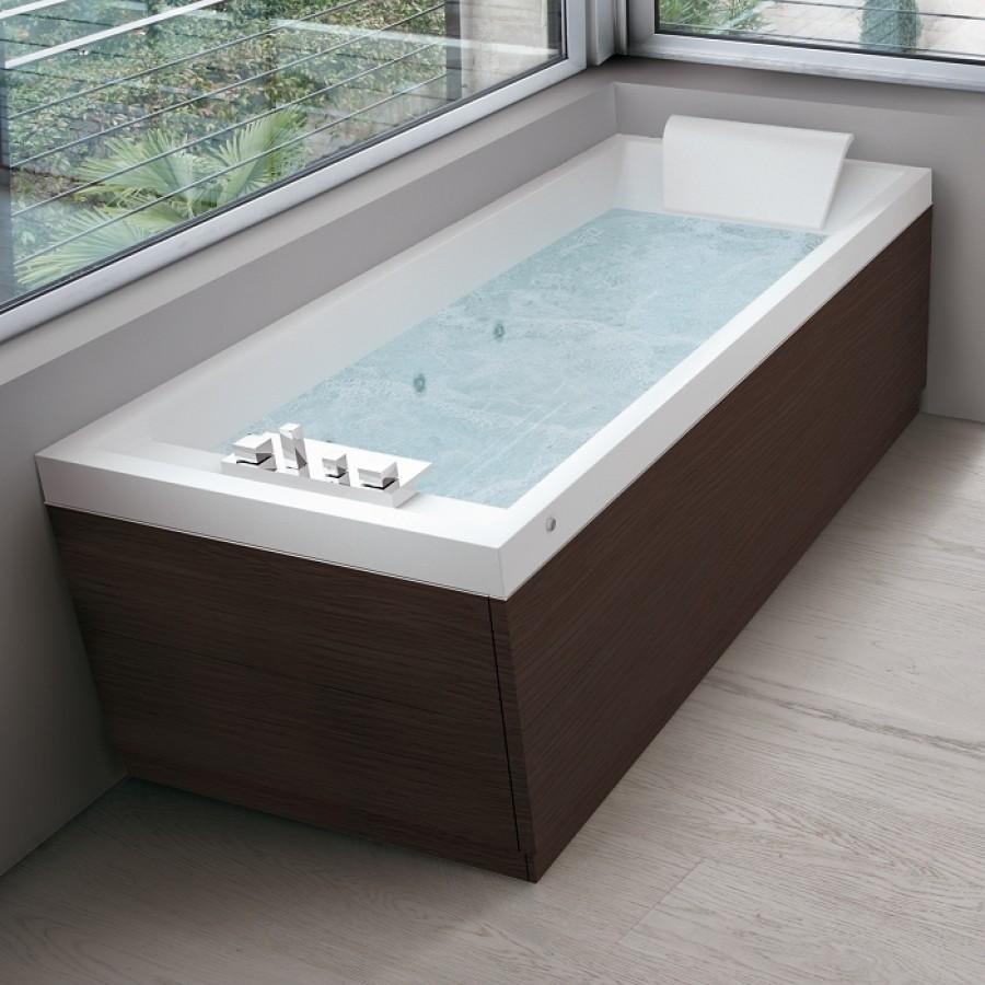 baignoire baln o 180x80 sense 4 dream air 2 tabliers stratifi weng meuble de. Black Bedroom Furniture Sets. Home Design Ideas