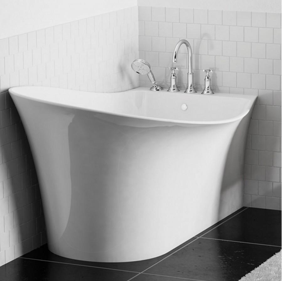 baignoire r tro design d 39 angle cedam 160x95 m tis angle meuble de salle. Black Bedroom Furniture Sets. Home Design Ideas