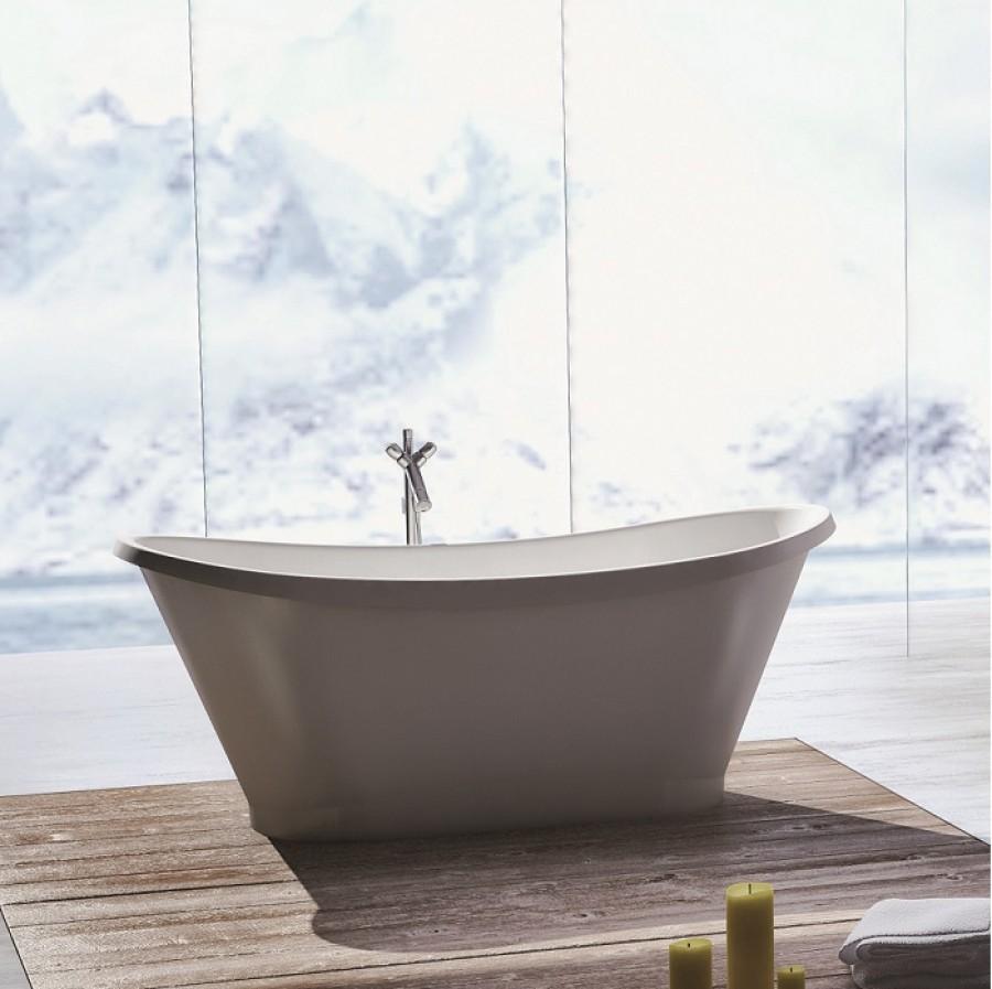 baignoire ilôt design cedam 160x70 poséidon