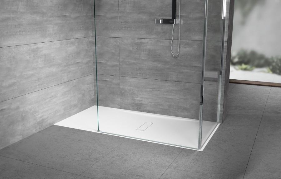 receveur de douche rectangulaire custom extraplat 120x90 meuble de salle de bain. Black Bedroom Furniture Sets. Home Design Ideas