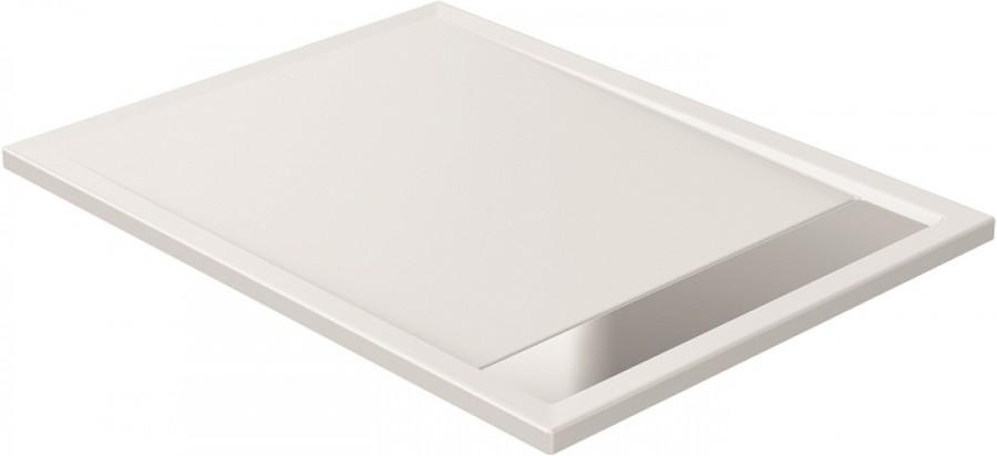 receveur de douche coulement lin aire 80x120 meuble de salle de bain. Black Bedroom Furniture Sets. Home Design Ideas